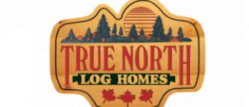 Company logo for True North Log Homes